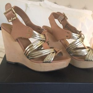 44af9be1b6a Women s Steve Madden Wooden Wedges on Poshmark